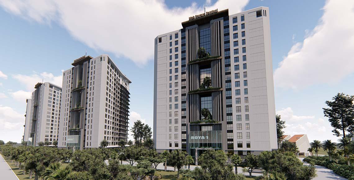 پروژه برج های رویای کیش - تصویر دوم