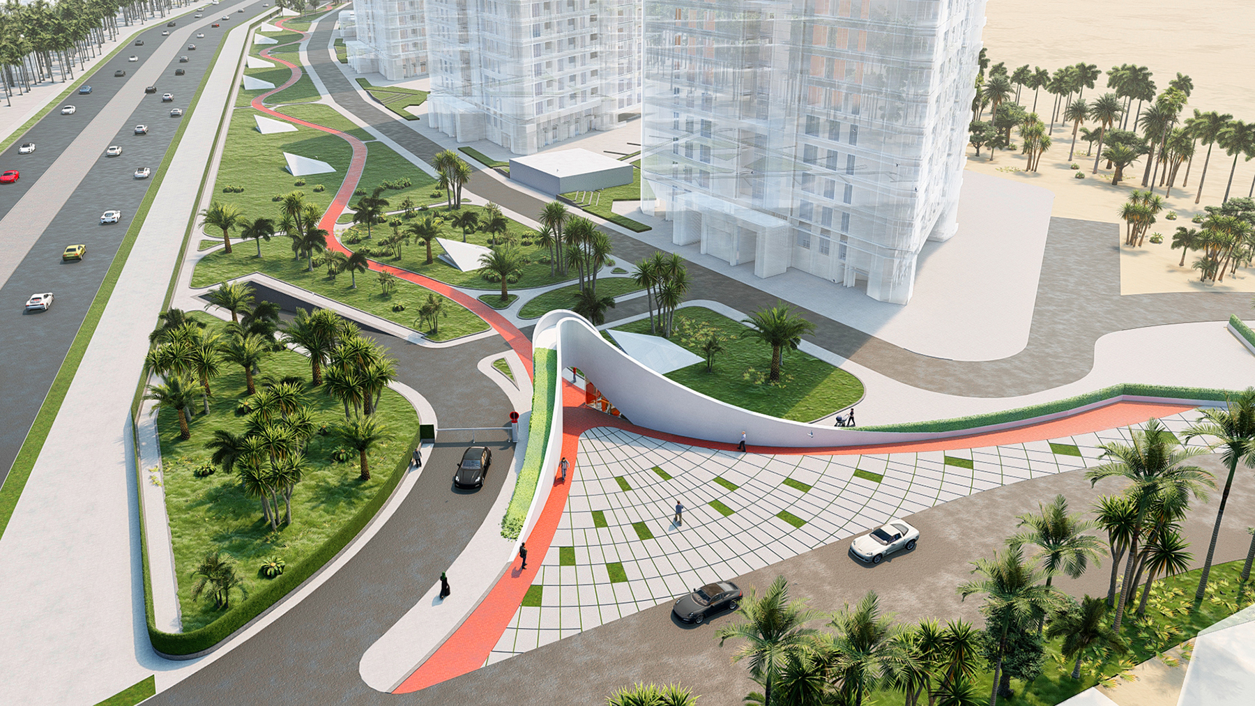 مسابقه طراحی معماری سر در و دیوار پیرامونی پروژه مجتمع مسکونی رویای کیش